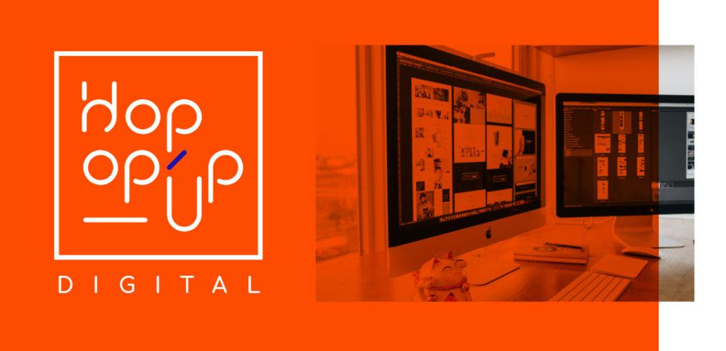 Hopop'Up Design - Agence de communication digitale Laval