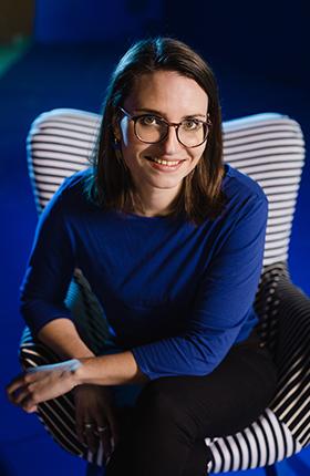 Mathie Robert, graphiste chez HOPOP'UP Design à Laval